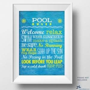 printable pool rules