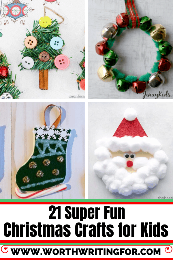 21 Christmas Crafts for Kids