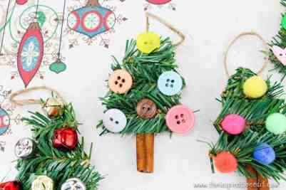 DIY Christmas tree ornaments for kids