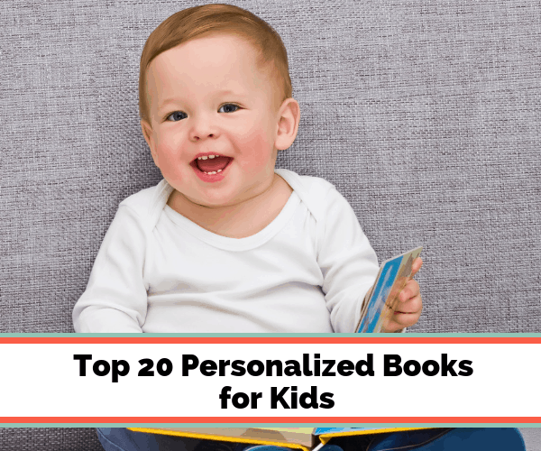 20 Personalized Books for Kids