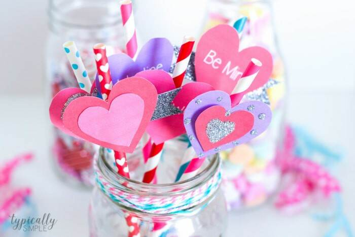 Valentine's Day party idea kids craft
