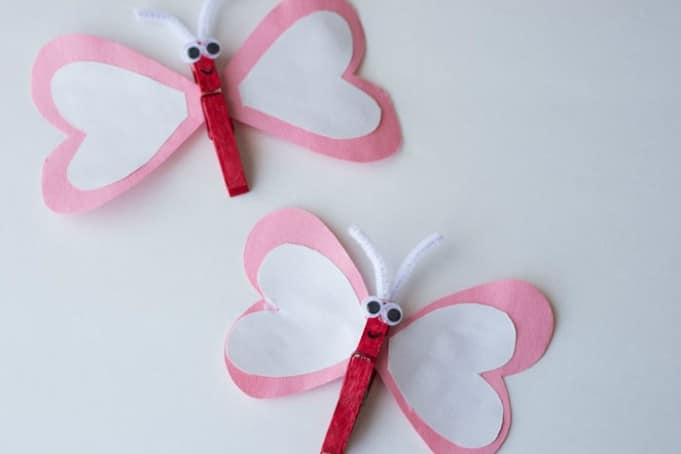 heart kids craft for valentines day