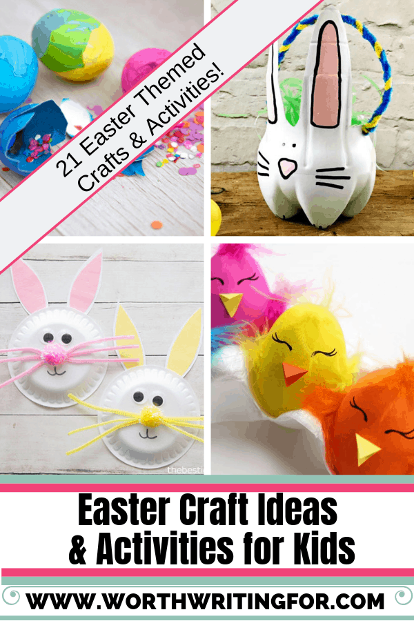Easter crafts for kids! 21 Easter craft ideas and Easter activities for kids to do this spring. Check them out!