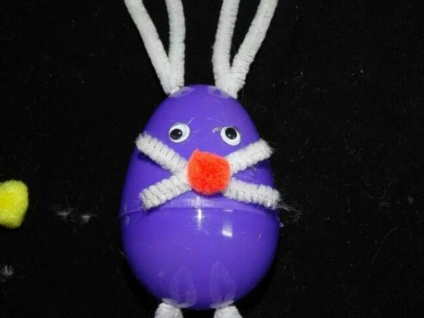 Egg bunny Easter craft