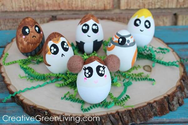 Star Wars egg Easter crafts