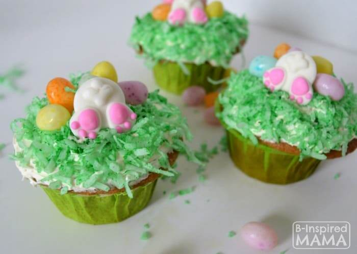 Easter cupcakes for kids