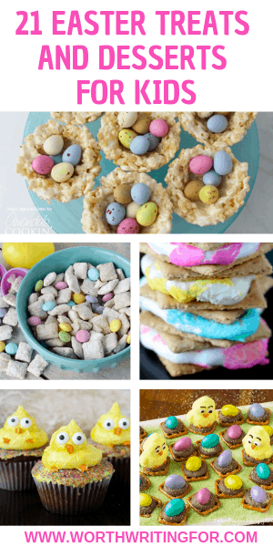 Make a special Easter dessert with your kids this year or a bunch of fun Easter treats! Check out this list of kid-friendly Easter treats including some gluten free Easter dessert options!