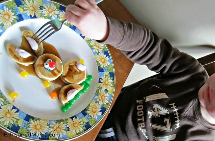 Easter pancakes for kids