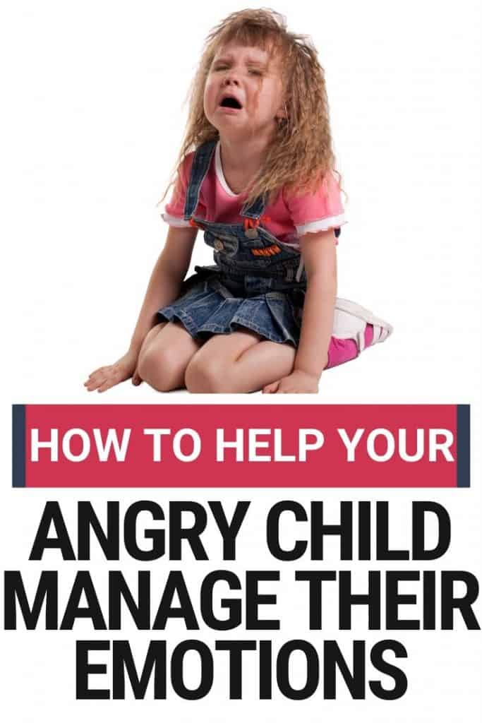 teach kids to manage anger