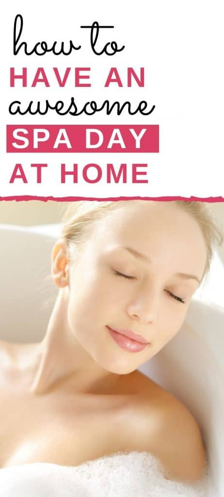 at home spa ideas
