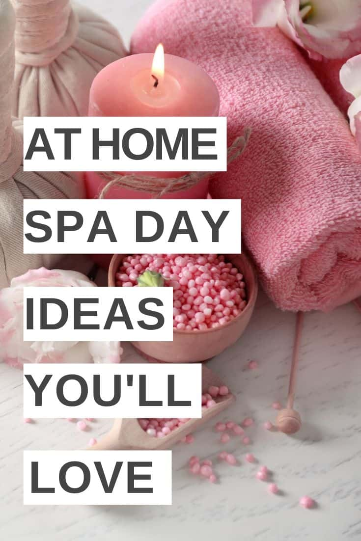 DIY spa at home