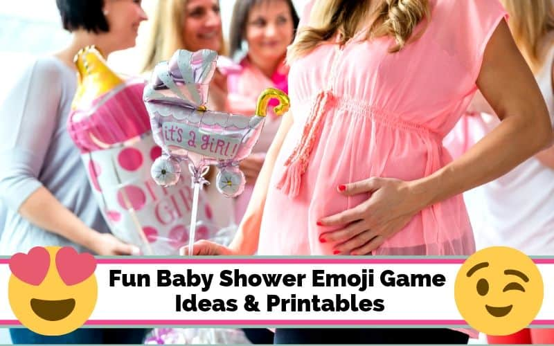 baby shower emoji game