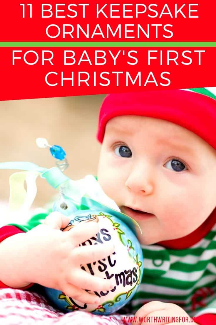 cute christmas ornament for baby