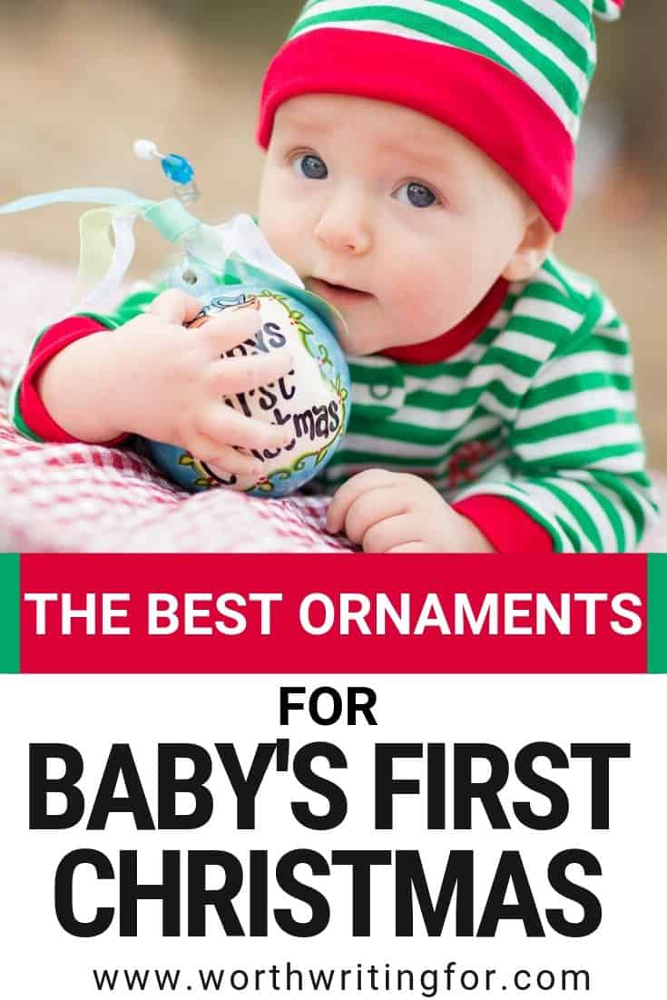 ornaments for babies first christmas
