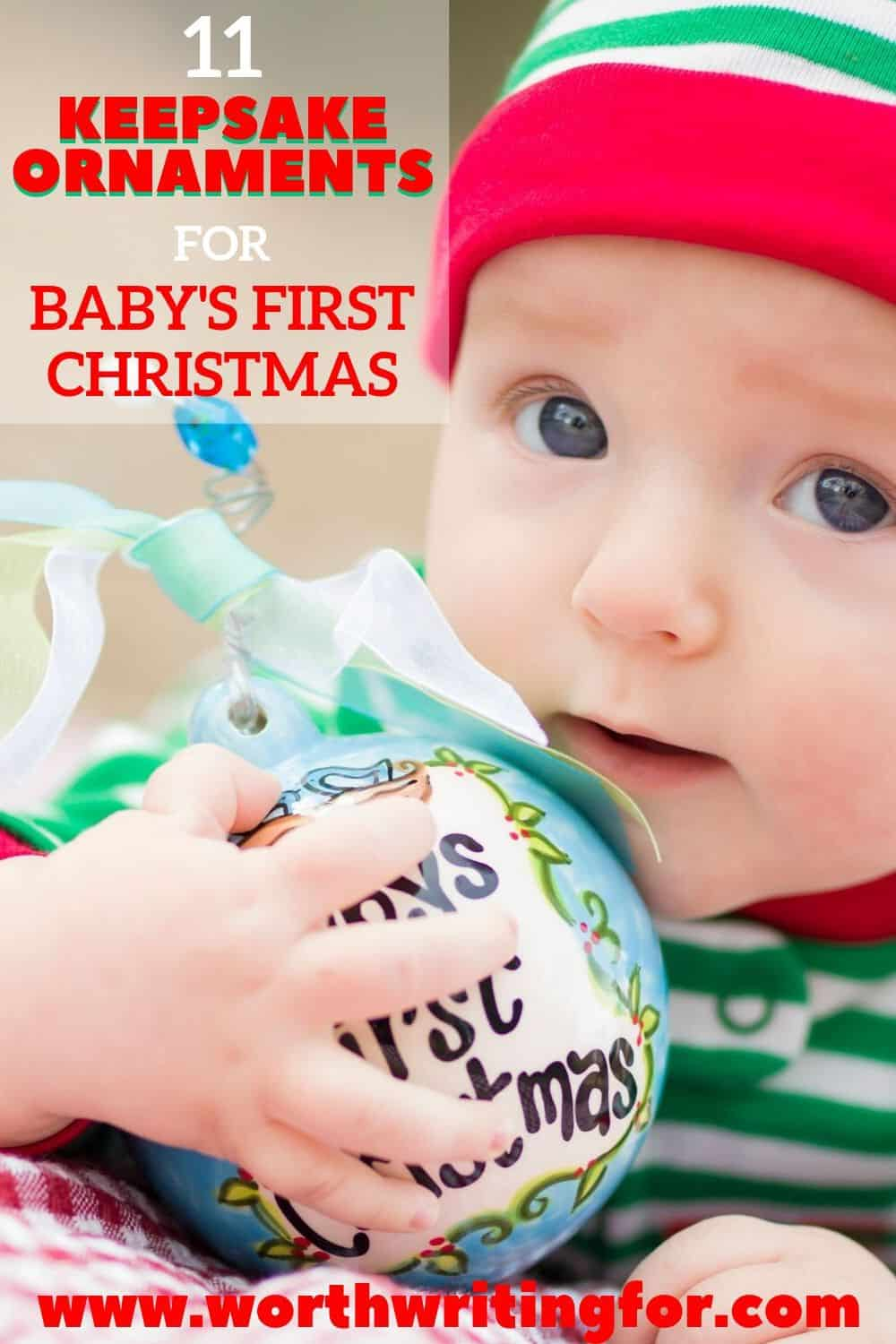 christmas ornament for baby