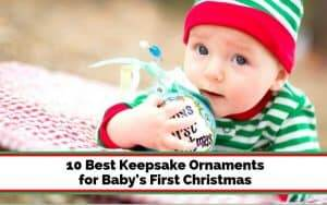best ornament for baby's first Christmas