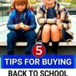 budget for back to school clothes