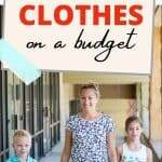 save money on school clothes
