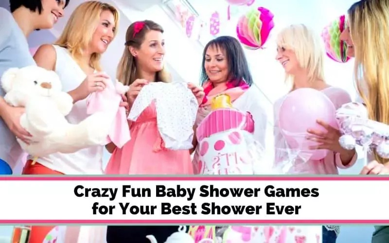 Super fun baby shower games that are actually fun to play! Have your best baby shower ever with these hilarious baby shower game ideas