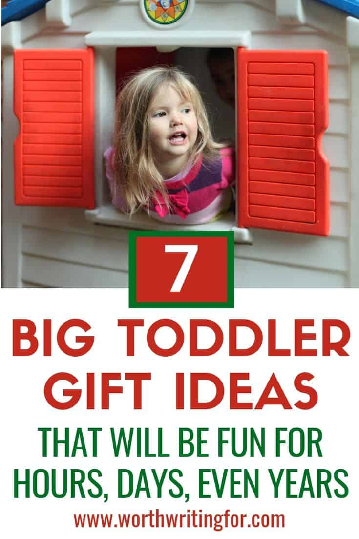 toys for toddlers at Christmas
