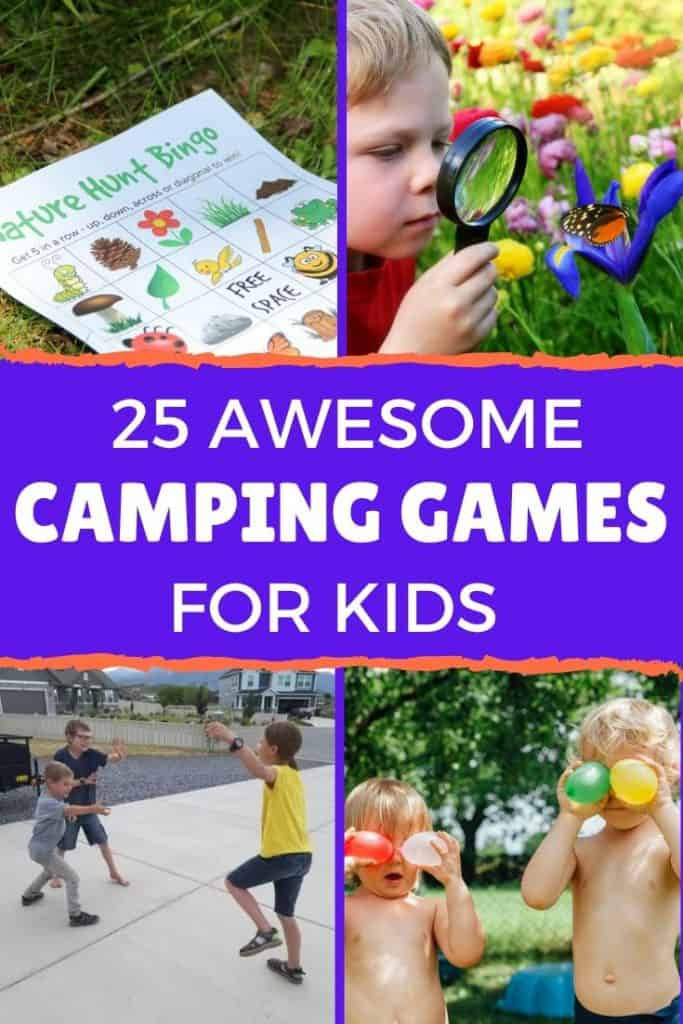 best kids camping games