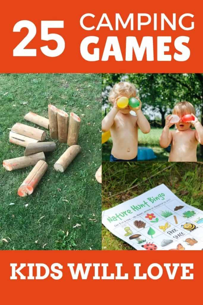 easy camping games for kids