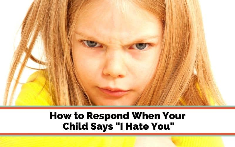 kid says I hate you