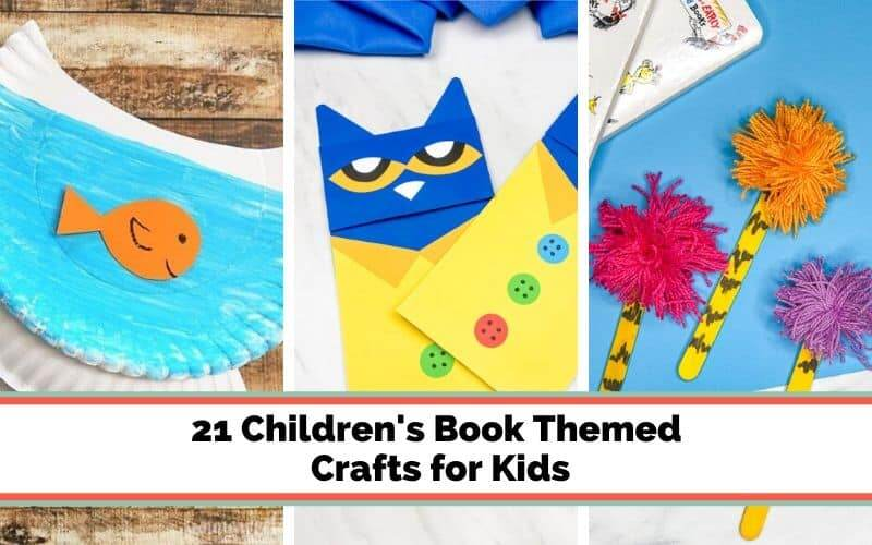 crafts to go along with children's books