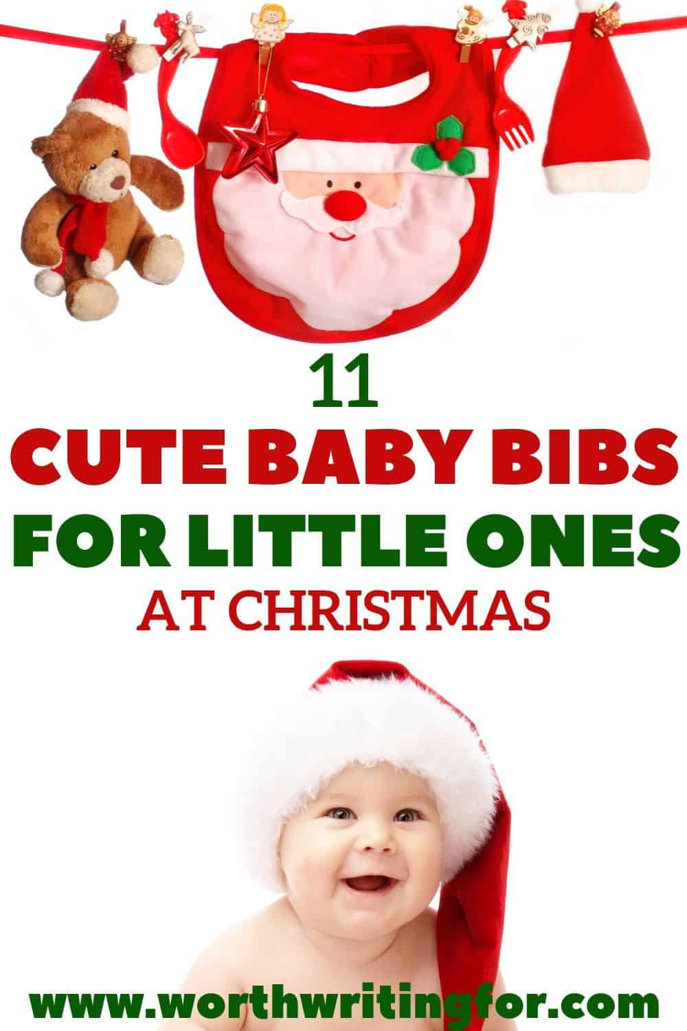 Christmas bibs for toddlers