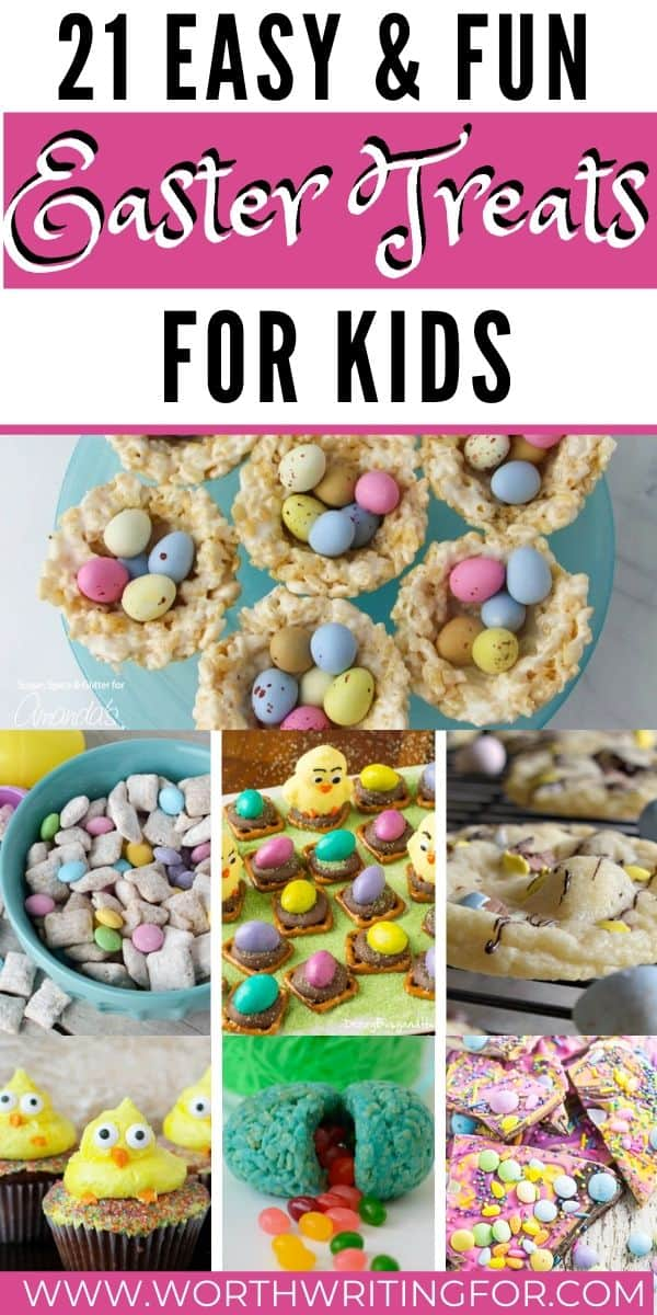 kids easter treats