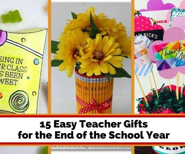 15 Easy Teacher Gifts for the End of the School Year