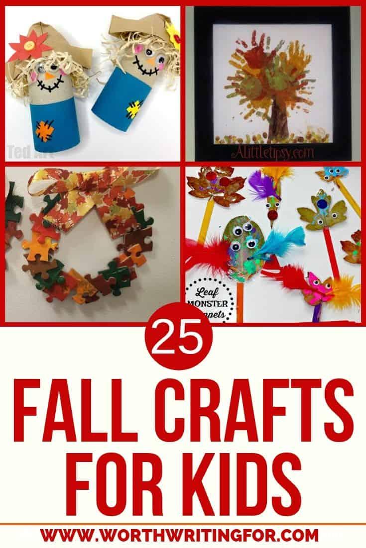 fall crafts to make with kids