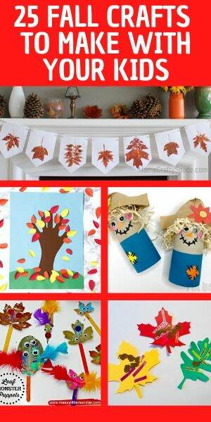fall themed crafts for kids