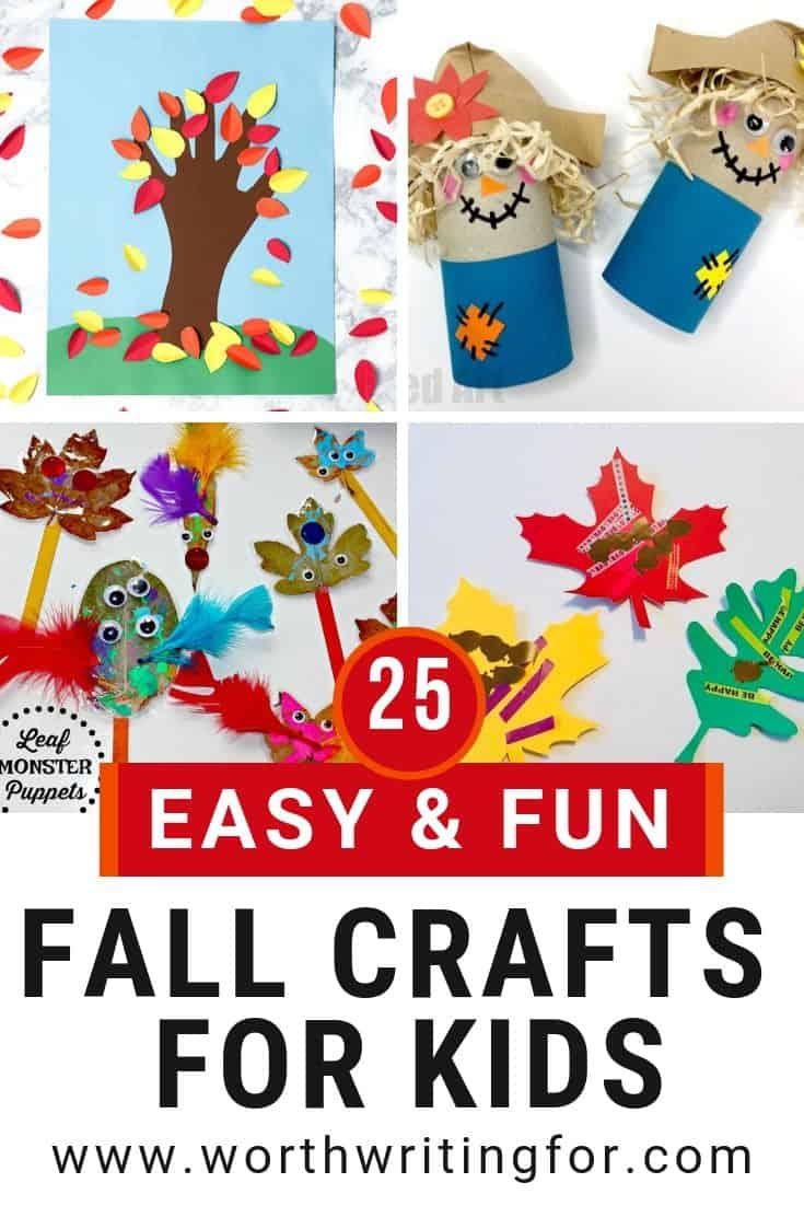 fall crafts for preschoolers