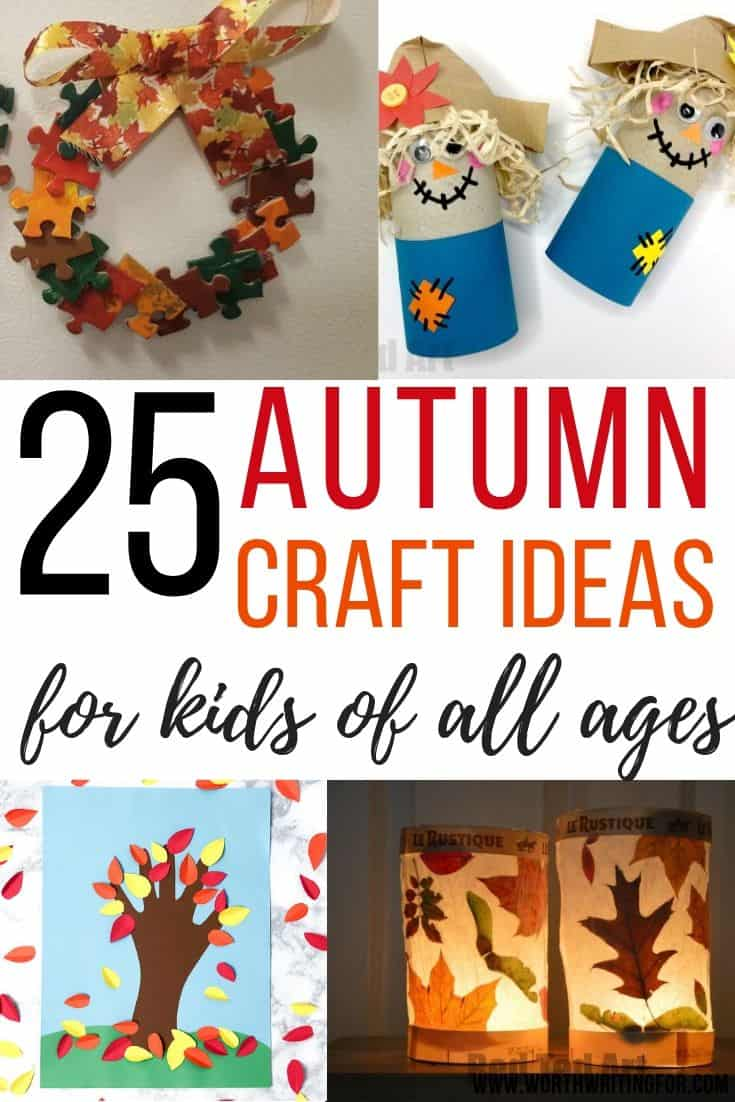 autumn crafts to make with kids