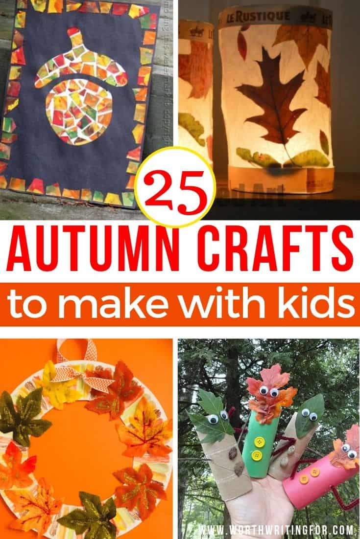 fall crafts for kids at home