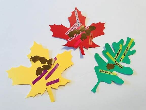 fall leaf craft for children