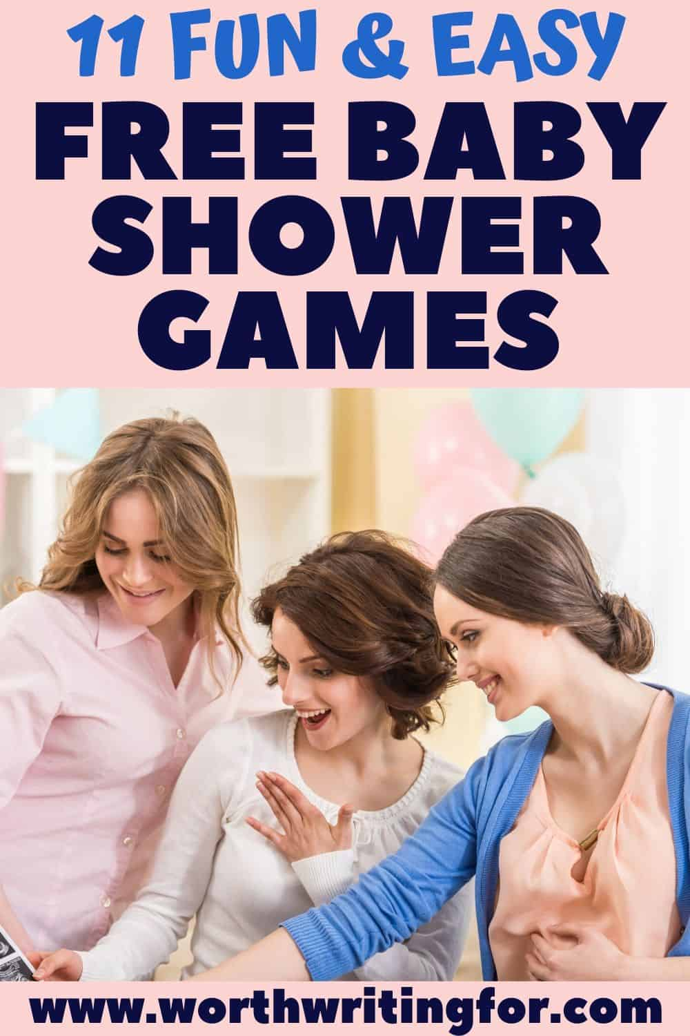 free baby shower games for girl