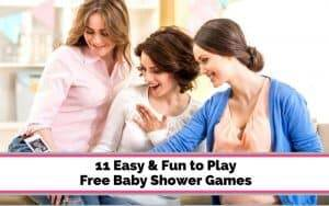 free baby shower game ideas