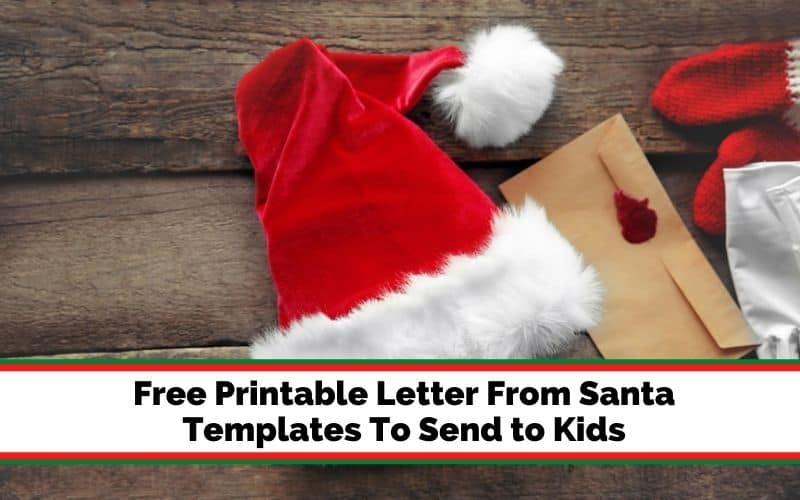 how to get a letter from Santa for your child