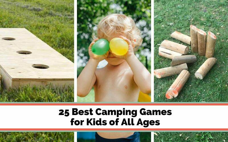fun camping games for kids