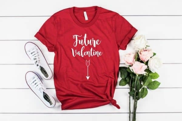 Future Valentine Pregnancy Announcement Shirt