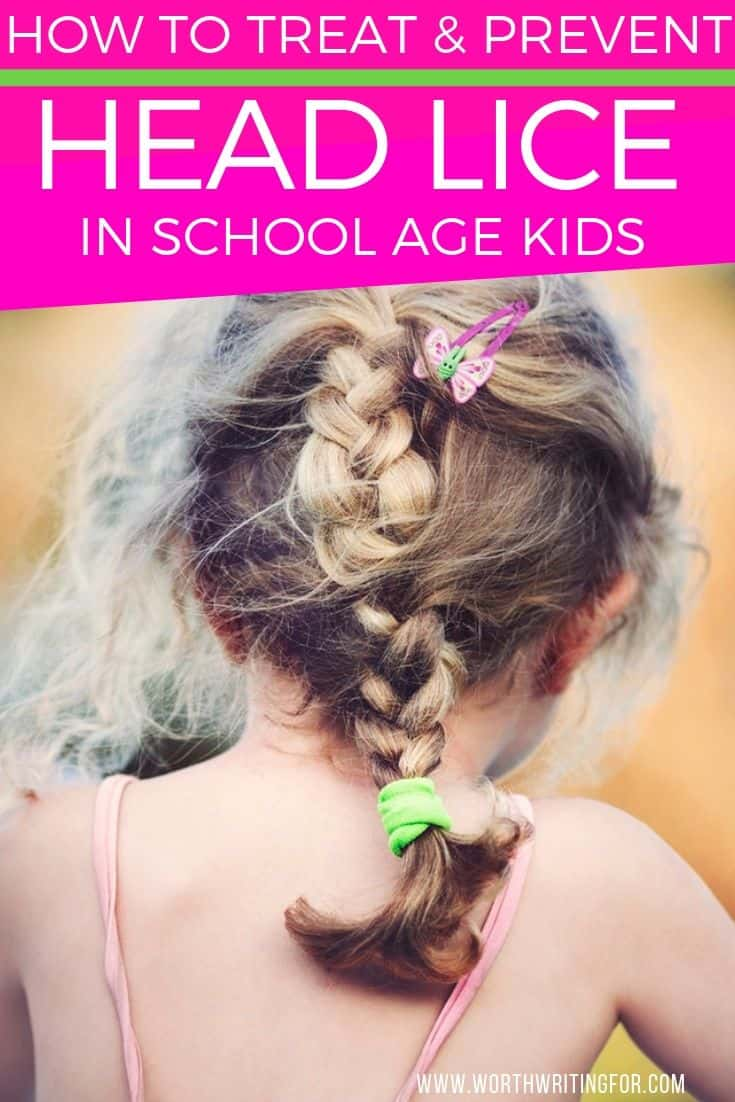 prevent kids head lice