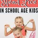 prevent head lice at school