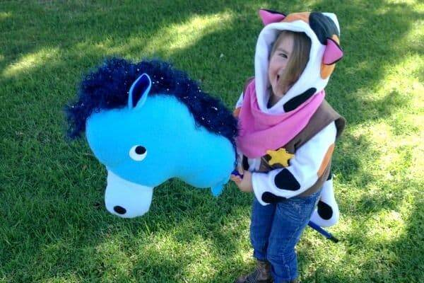 homemade halloween costume for preschooler