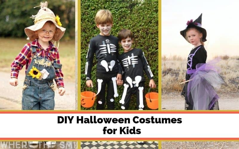easy homemade kids halloween costumes