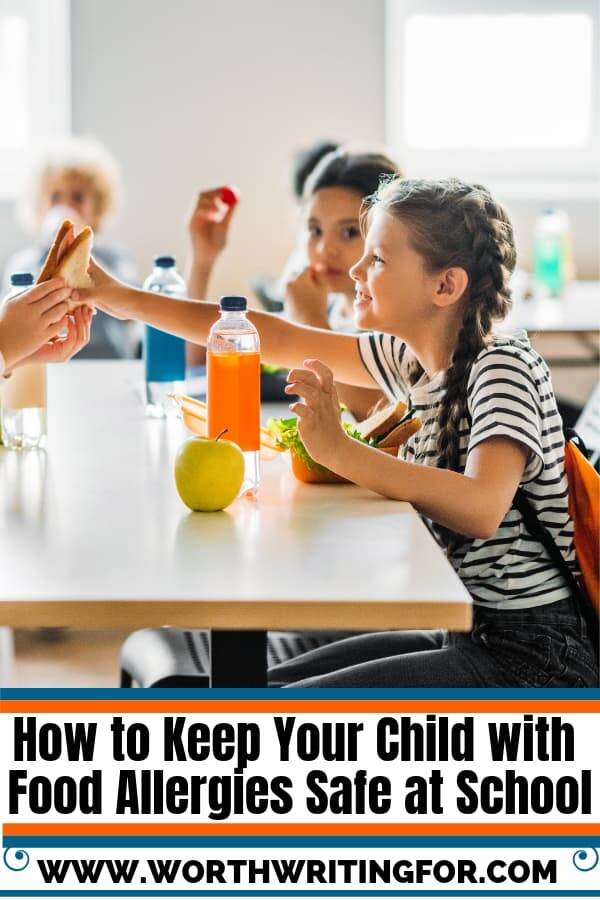 be safe at school with food allergies