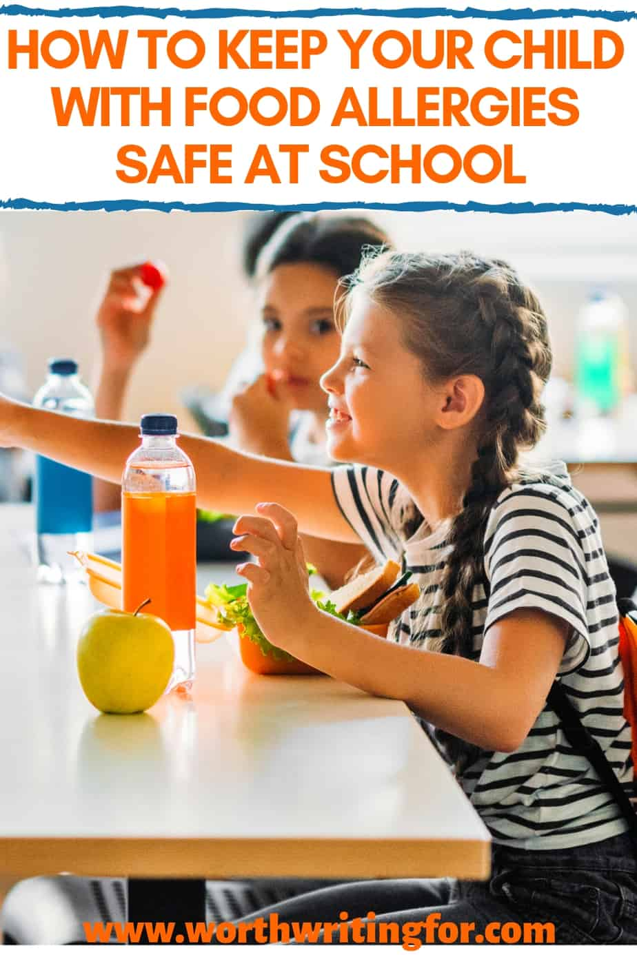 sending kid with food allergies to school safely
