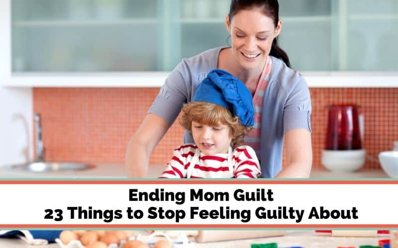 How to stop feeling guilty about your parenting