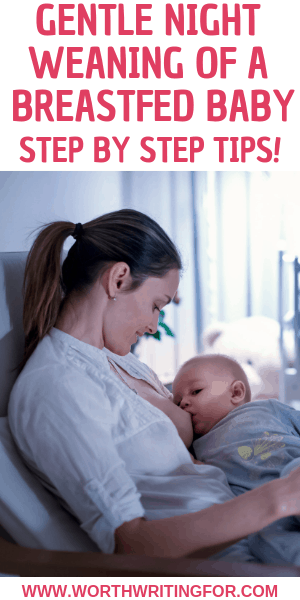 How to night wean a breastfed baby